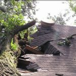 Texas storm damage roof repair